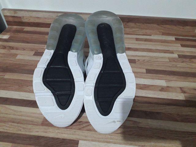 Tênis Nike Air Max 270-branco Original Tamanho 40 - Foto 5