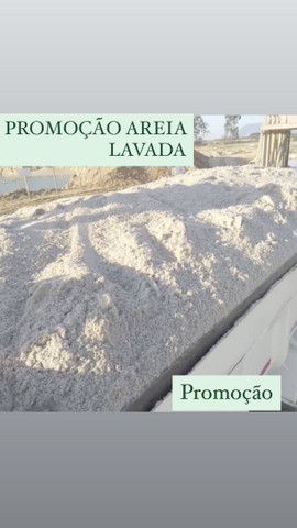 AREIA LAVADA BRITA BRITA BRITA PÓ DE PEDRA PÓ DE PEDRA AREIa - Foto 6