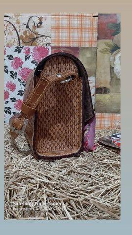 bolsa de couro feminina  - Foto 5