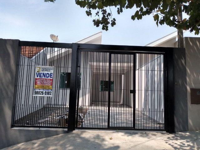 Casa nova Jd Madri, 3 quartos, garagem + espaço fundos - Foto 8