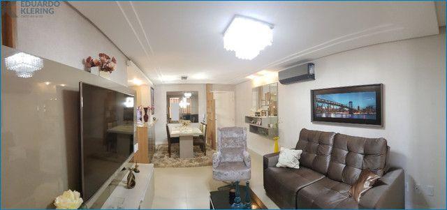 Apartamento Alto Padrão, 3 dormitórios, 2 banheiros, sacada, churrasqueira, Esteio - Foto 5