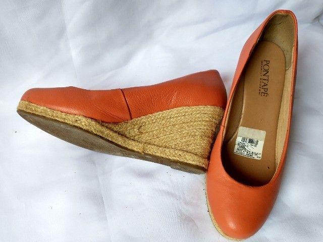 Sapato cor claro conforme foto - Foto 3
