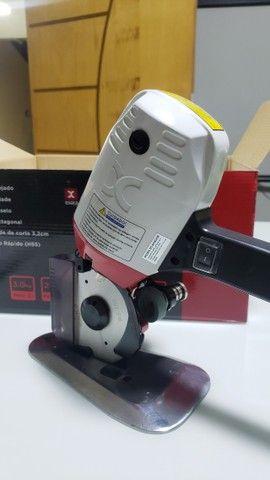 Máquina Corte Tecido 4 P Octogonal Disco Extra Oferta Ex-250 - Foto 3