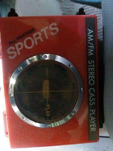 Walkman relíquia novo - Foto 2