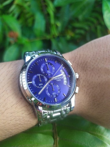 Relógio Masculino NiBOSi Luxo - Foto 4