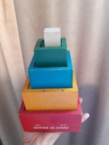 4 Brinquedos Pedagógicos de madeira - Foto 6