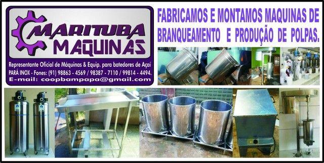 Máquinas de produção de açaí e polpas  - Foto 2