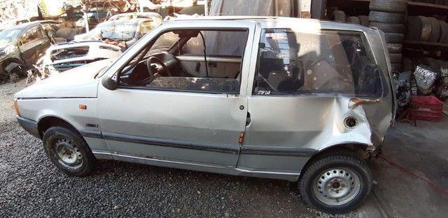 Sucata Fiat Uno 1990 Para retirada de peças  - Foto 3