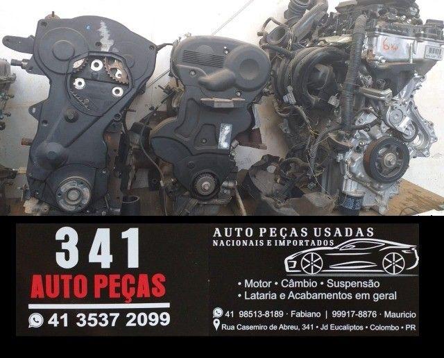 Motor parcial 1.6 Sigma New Fiesta Ecosport Focus