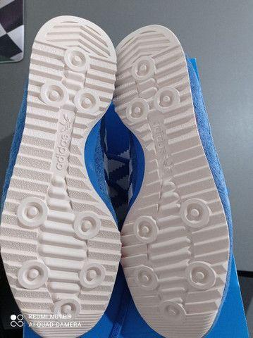 Tênis Adidas Sl 72 Azul Novo - Foto 4