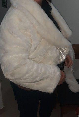 Jaqueta de pele