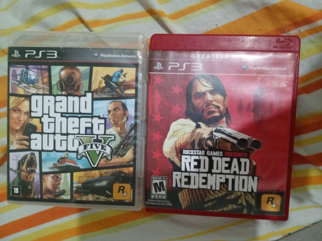 GTA V + RED DEAD REDEMPTION PS3