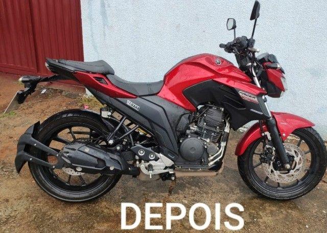 plotagem de motos envelopamento de motos e carros adesivos  - Foto 4