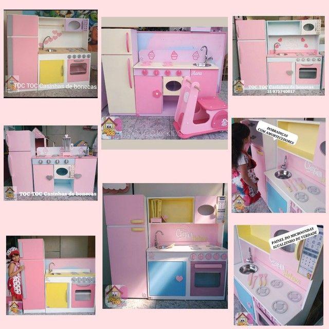 Cozinhas infantis 100% mdf - Foto 5