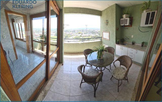Duplex Horizontal mobiliado, 4 dormitórios, 2 suítes, 3 vagas, 230,40m², 14º andar - Foto 2