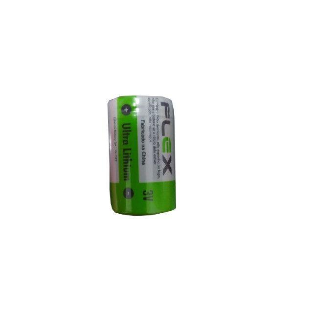 Bateria Pilha 3v FX-CR2 Cr123a B1 Sensor Sem Fio Lithium - Foto 2