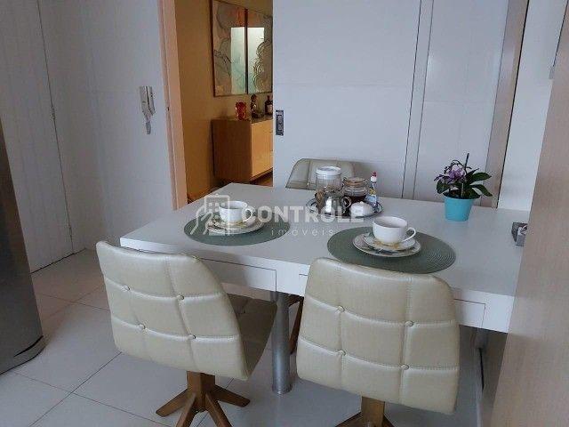 (RR) Apartamento 03 dormitórios, sendo 01 suite, no bairro Balneário, Florianópolis. - Foto 4