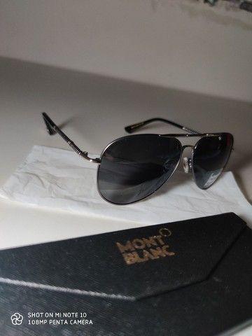 Óculos De Sol MONT BLANC AVIADOR  - Foto 3