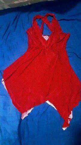 Vendo esse lindo vestido vermelho. - Foto 3