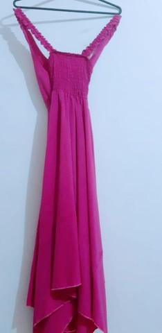 Vendo esse lindo vestido rosa - Foto 2