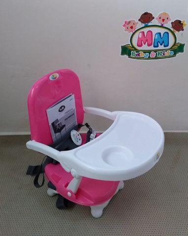 Cadeirinha de Alimentação Portátil Feminina da Tutti Baby - Nova - Foto 5