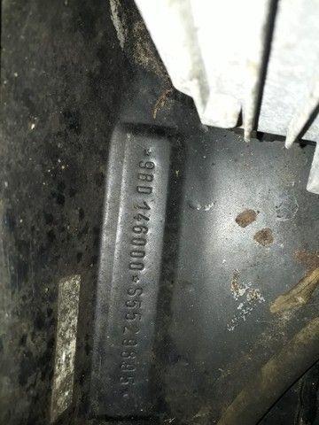 Uno mille 2 portas 95/96 troco por moto custon ou fusca - Foto 7