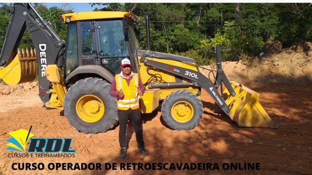 Curso de Retroescavadeira em Manaus - Foto 4