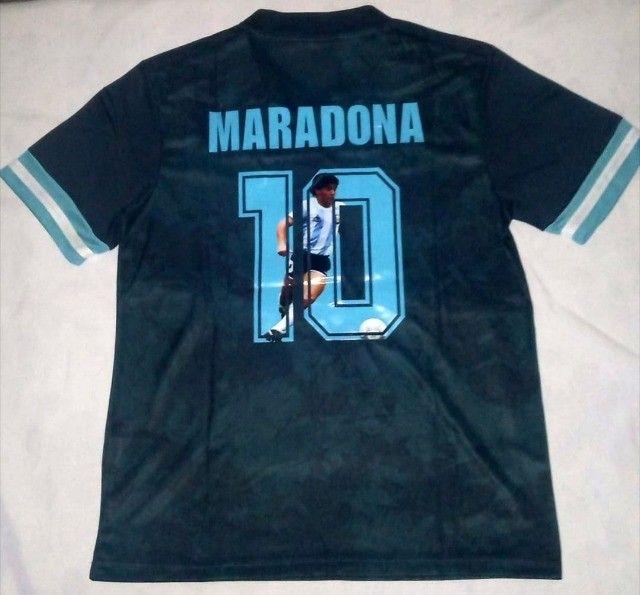 Camisa Argentina - Edição Comemorativa - Maradona