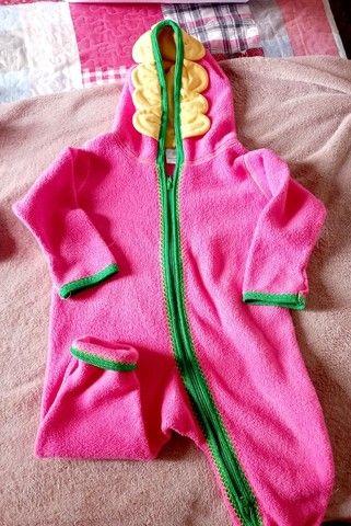 Macacao plush rosa tamanho 2 - Foto 3