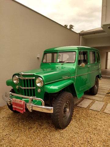 Rural Willys Bicudinha 1956 - Foto 2