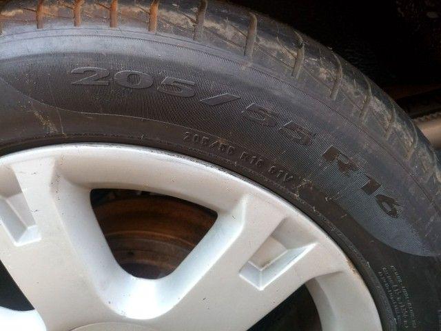 Troco aro 16 com pneus 70% por aro 15 ou 14 - Foto 4