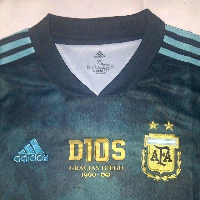 Camisa Argentina - Edição Comemorativa - Maradona - Foto 4