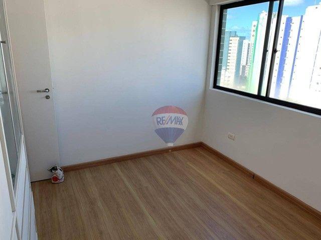 Apartamento com 3 dormitórios à venda, 130 m² por R$ 970.000,00 - Aflitos - Recife/PE - Foto 11