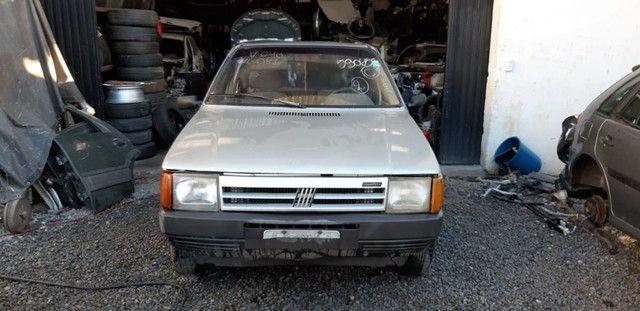 Sucata Fiat Uno 1990 Para retirada de peças  - Foto 6