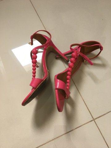 Sandália rosa marca ceccollo - Foto 4