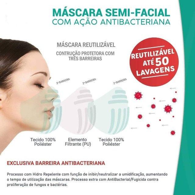 Mascara com proteção três barreiras - Foto 6