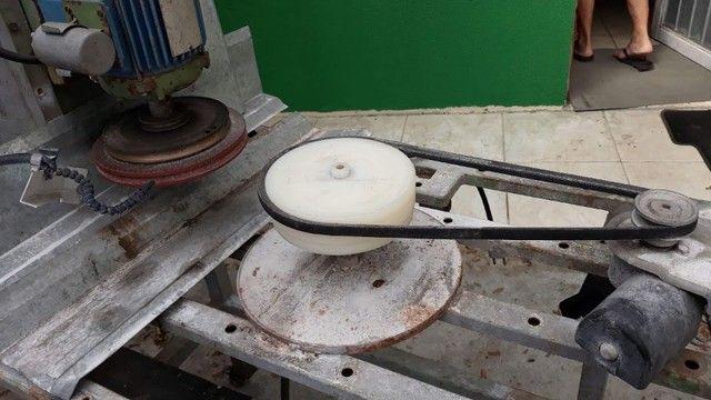 Maquina de lapidar Vidro Redondo - Foto 2