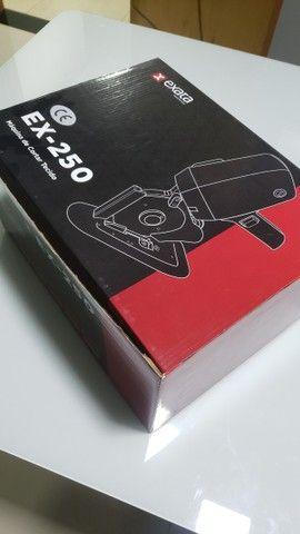 Máquina Corte Tecido 4 P Octogonal Disco Extra Oferta Ex-250