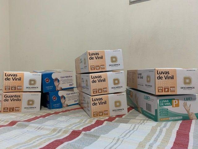 Caixas de luva de vinil R$45 cada caixa - Foto 2