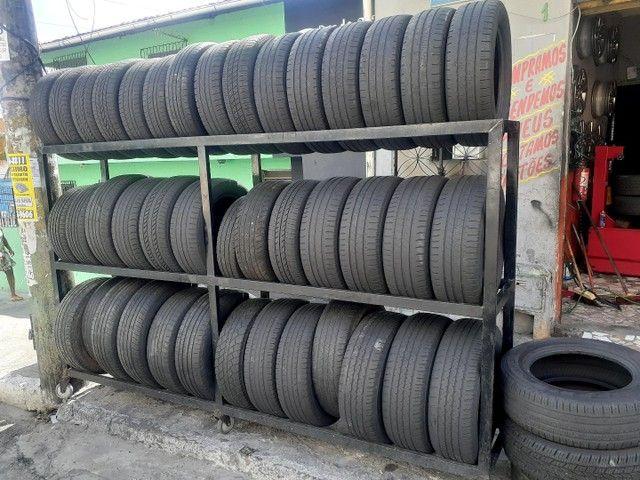 J.T Pneus borracharia pneu aro 15 195/65/15 a partir de r$ 70 - Foto 5