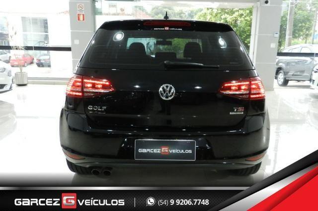 Vw - Volkswagen Golf Highline 1.4 Turbo Único Dono Com Teto Solar Rodas 17 Alemão - Foto 9