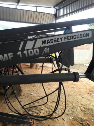 Lâmina frontal trator Massey Ferguson