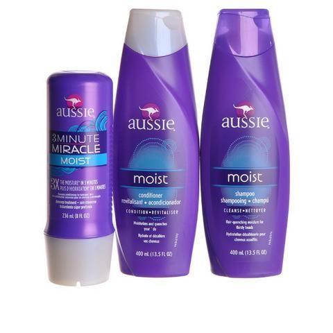 d1a4f99a3 Kit Aussie Moist  Shampoo + Condicionador + Mascara Hidratação ...