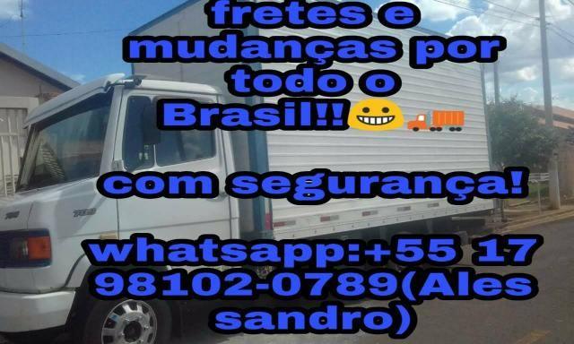 Fretes e mudanças pra todo o Brasil