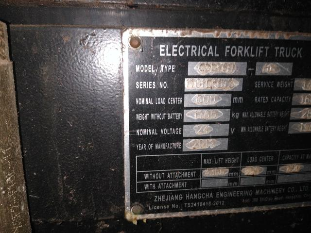 Empilhadeira Patolada Elétrica - Foto 3