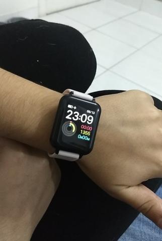 Promoção Smartwatch telefone Inteligente da Frequência Cardíaca Monitor de Pressão Arteria