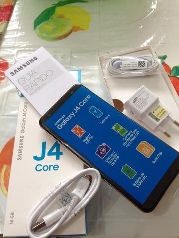 Samsung J4 Core 16gb Na Caixa Nota Fiscal E Todos Os Acessórios 600Reais$