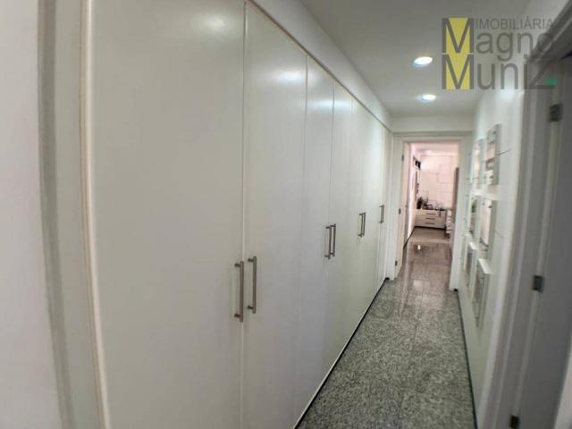 Apartamento de alto padrão à venda, 253 m² por r$ 1.650.000 - meireles - fortaleza/ce - Foto 17