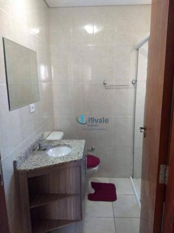 3 dormitórios sendo uma suíte e sacada na sala - jardim das indústrias - jacareí - Foto 11