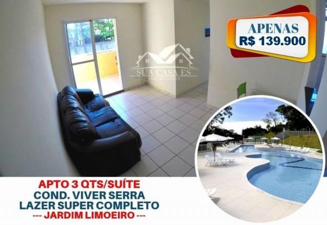 Apartamento à venda com 3 dormitórios em Jardim limoeiro, Serra cod:AP337LE